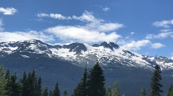Whistler Olympic Park: View from the park