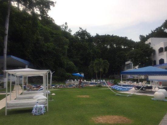 Hotel Villa Bejar and Spa Tequesquitengo: Excelente servicio, el Hotel necesita remodelación urgente.