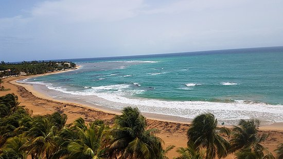 Playa Azul: View from the balcony.