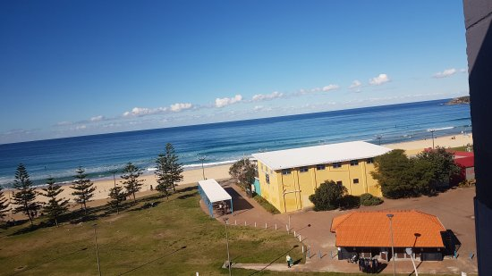 Maroubra, Australia: View from the gym!