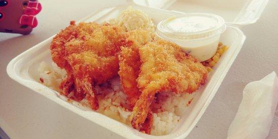 Anahola, HI: Shrimp tempura