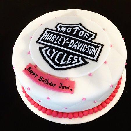 Passion Restaurant Bakery Harley Davidson 2 Pound Chocolate Caramel Phuket Last Minute Delivery Birthday