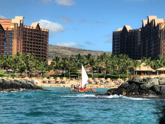 Kaneohe, Hawaï : coming out of the Disney Aulani. All are welcomed to come play with us