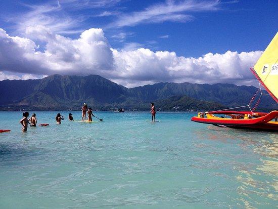 Kaneohe, Hawái: stand up paddle or kayak