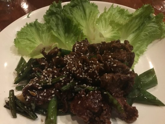 Tin Jo Restaurant: Mongolian beef