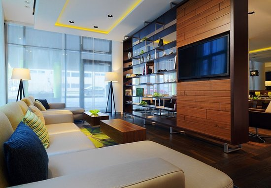 Courtyard by Marriott Cologne: Lobby Lounge