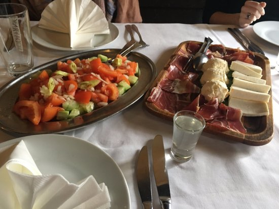 Kafana Question Mark: Appetizers
