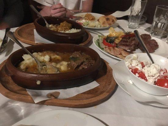 Kafana Question Mark: The whole meal