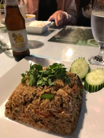 Siamese Garden: Spicy Fried Rice Combo