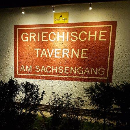 Gross-Enzersdorf, Австрия: Griechische Taverne am Sachsengang