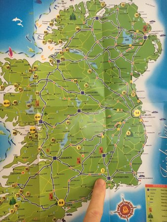 Map Of Waterford Ireland.Maps Directions In Mooncoin Bus Timetables From Dublin Waterford