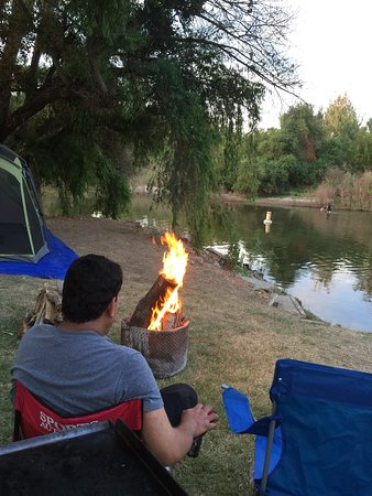 Reedley, Californië: Lindy's Landing Park