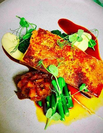Te Awamutu, Nova Zelândia: Pork Belly w lots of goodness