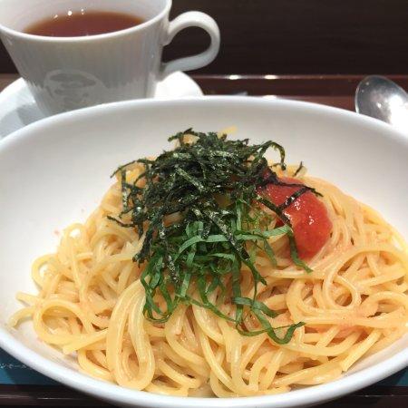 カフェ・ド・クリエ 札幌オーロラタウン, 明太子スパゲティ