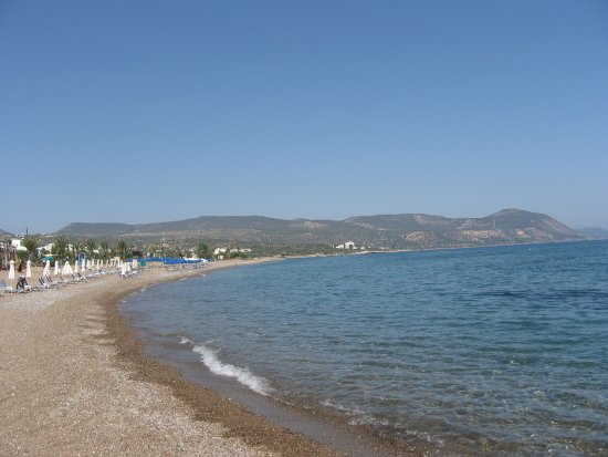 Lachi, Cyprus: Мелкая галька,прозрачное море