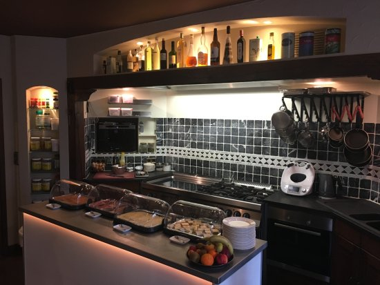 Villa Hotel: Ontbijtbuffet