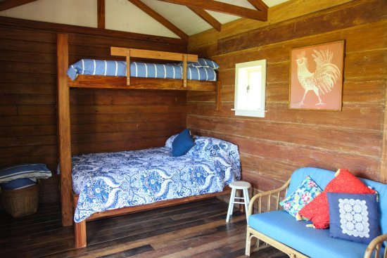 Feilding, New Zealand: Bunk accommodation in the Hut.