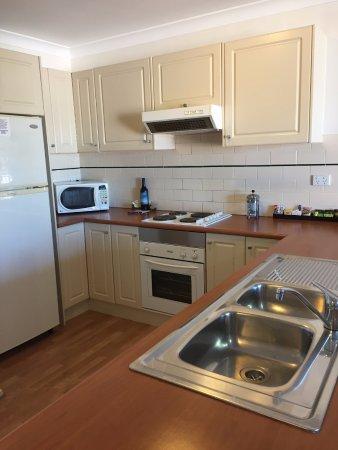Terralong Terrace Apartments: Kitchen, includes dishwasher