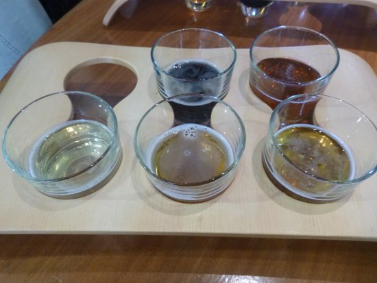 Invercargill, Nueva Zelanda: Degustationspannell
