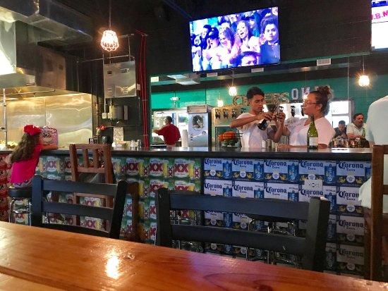 Amazing Taco Di Vino: Menu,salsa Bar, Elote, Tacos, Patio, And
