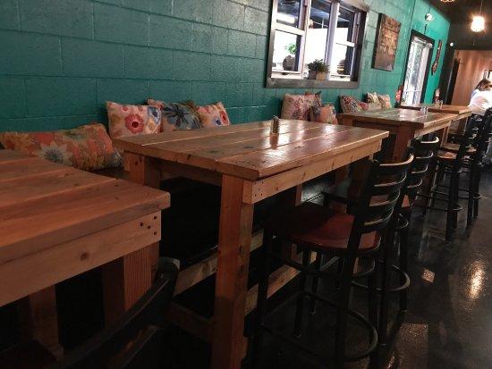 Taco Di Vino: Menu,salsa Bar, Elote, Tacos, Patio, And