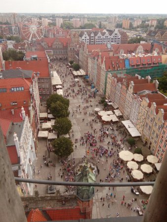 Gdansk History Museum (Muzeum Historyczne Gdanska): view from the top