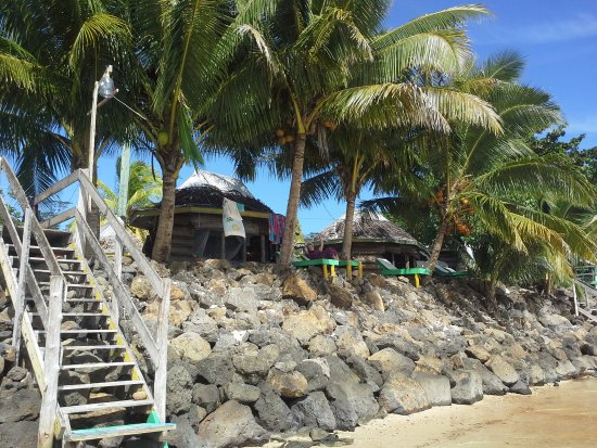 Tanu Beach Fales Foto