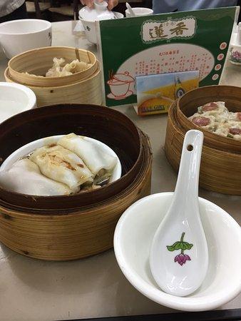 Lin Heung Tea House: 点心たち