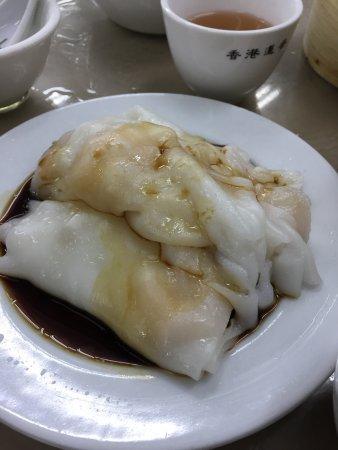 Lin Heung Tea House: 具の少な目腸粉、大きい