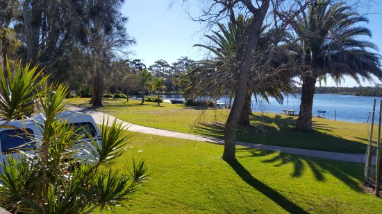 Riviera Caravan Park: View From Our Deck