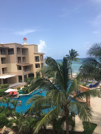 Residences El Faro: balcony View, Reef 303
