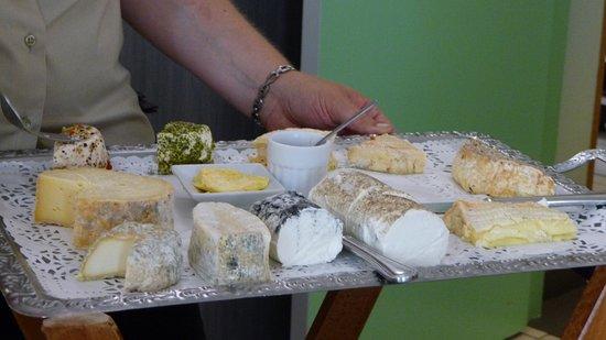 Beaumont Pied De Boeuf, Fransa: Le plateau de fromages