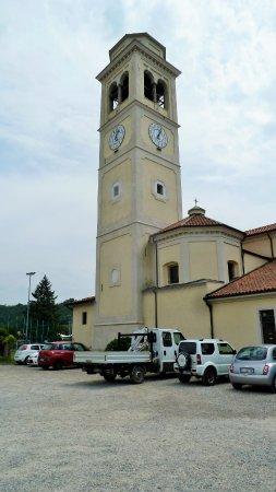 Prato Sesia, Italy: Campanile con Orologio del 1724