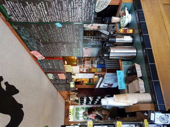 Green Salmon Coffee Shop: Great place