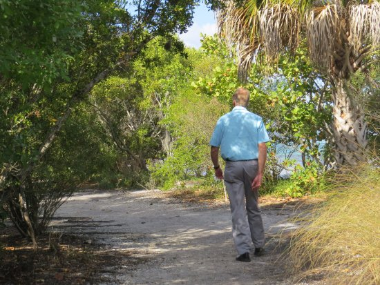 Quick Point Nature Reserve: Sandy trail