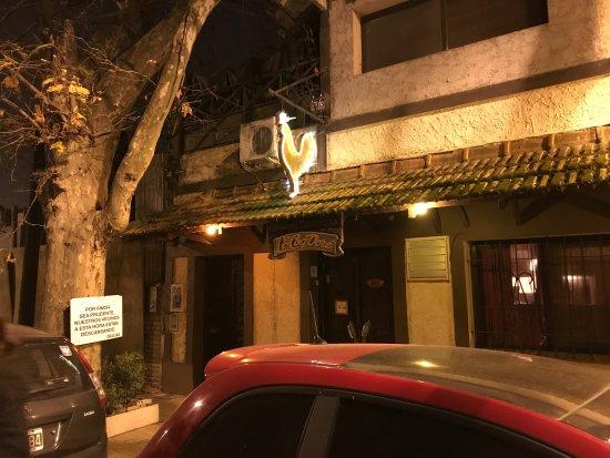 Le Coq Dore : frente del restaurant I
