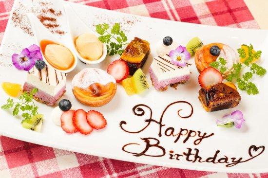 Happy Birthday Picture Of Bistrot Cafe De Paris In Kobe Tripadvisor