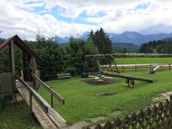 Hopferau, Germany: Spielplatz für Kinder beim Wiesbauer