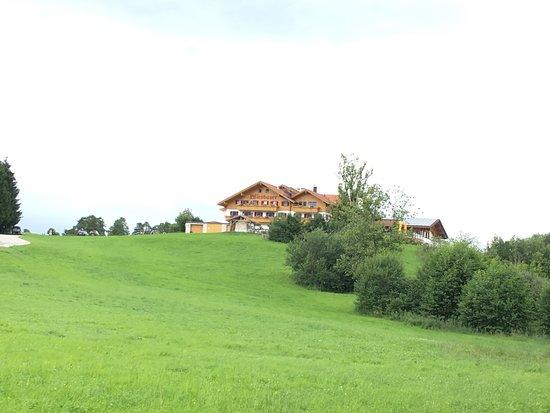 Hopferau, Germany: Die Lage des Wiesbauer ...
