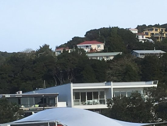 Allegra House: Allegro House is the yellow building top right, a stunning position above the harbour.