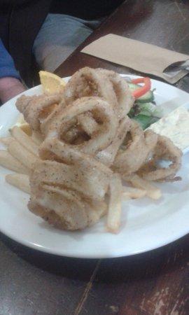 Greenock, ออสเตรเลีย: Salt and Pepper Squid, looked good