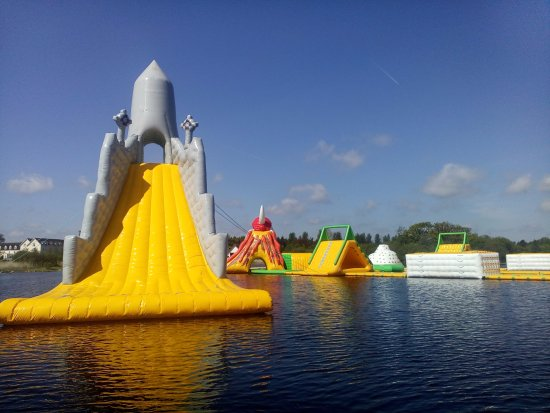 Athlone, Ireland: Worlds tallest floating slide Guinness record holder, Baysports