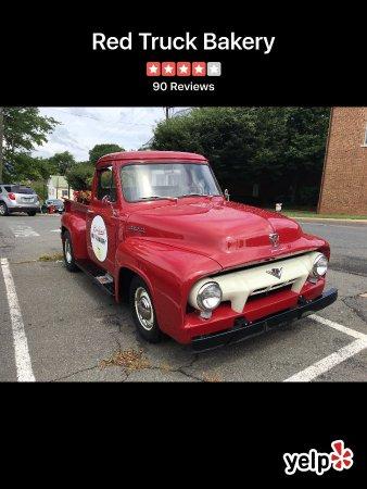 Warrenton, VA: Red truck