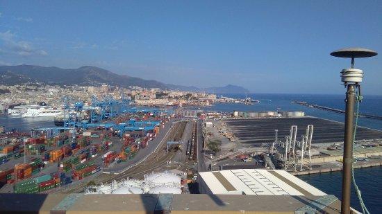 Dalla terrazza panoramica - Picture of Lanterna di Genova, Genoa ...
