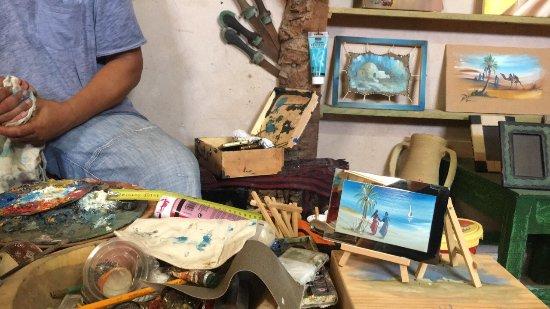 Dar Jilani La maison des Arts & Métiers: Une visite très agréable a Dar Jilani Très beau travail