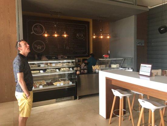 Cap Estate, St. Lucia: Coffee shop
