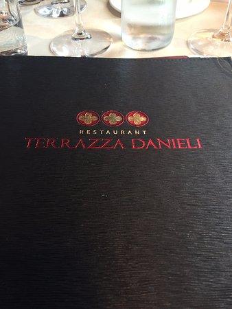 Menu Picture Of Restaurant Terrazza Danieli Venice
