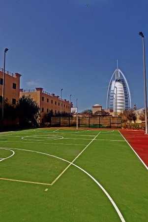 The Emirates Academy Lodging: Basketball and Tennis Court