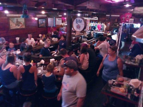 Baileys Harbor, WI: Inside of restaurant