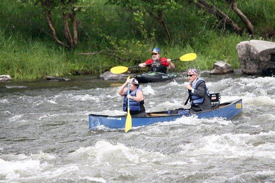 Narrowsburg, NY: Skinners Falls white water fun